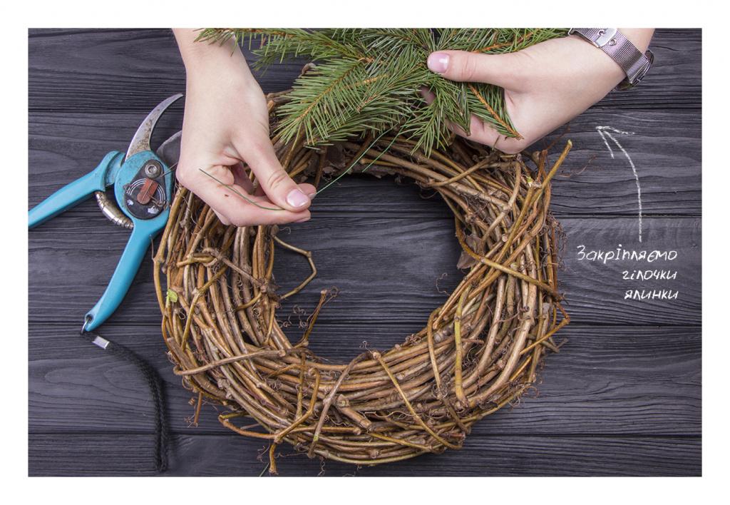 Різдвяний вінок своїми руками: Створюємо ексклюзивну прикрасу для оселі