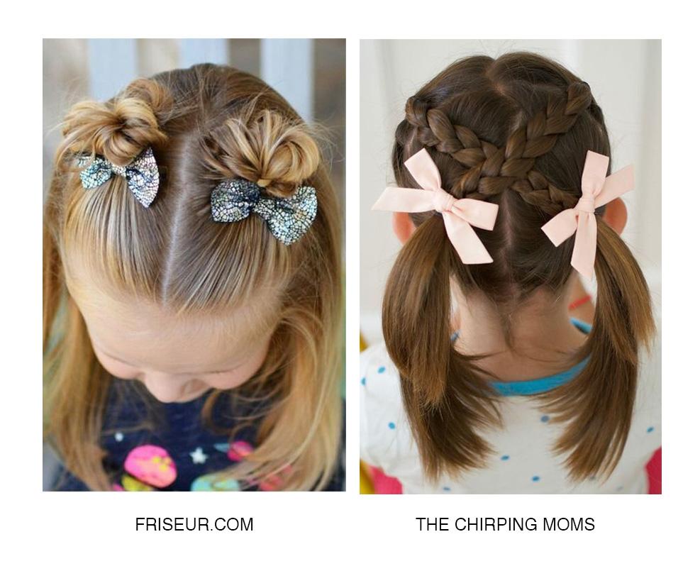 Найкращі дитячі зачіски до Свята першого дзвоника + Відео майстерклас