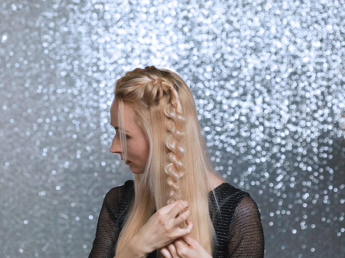 Оригинальные прически-трансформеры с косами