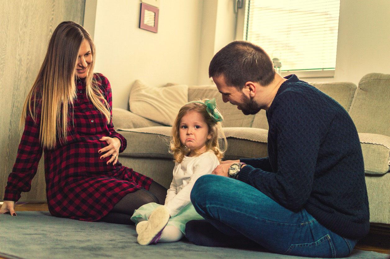 Як підготувати дитину до появи братика чи сестрички