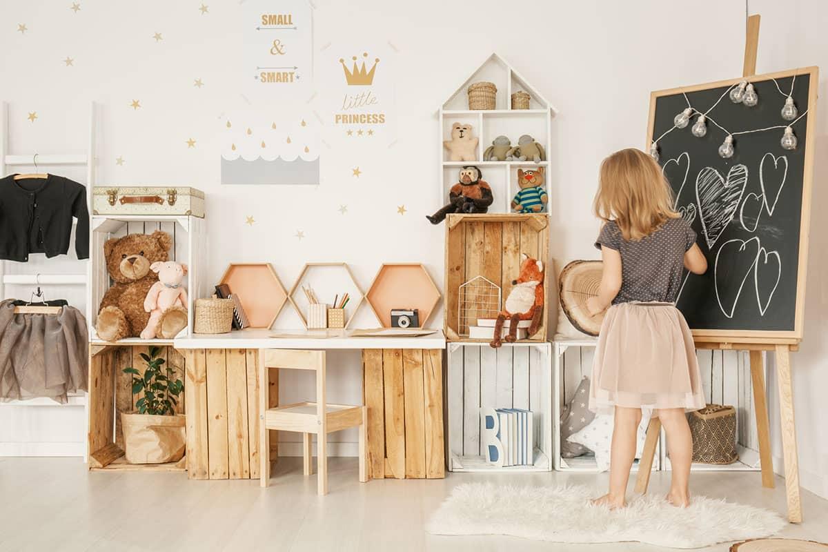 Стильна дитяча кімната