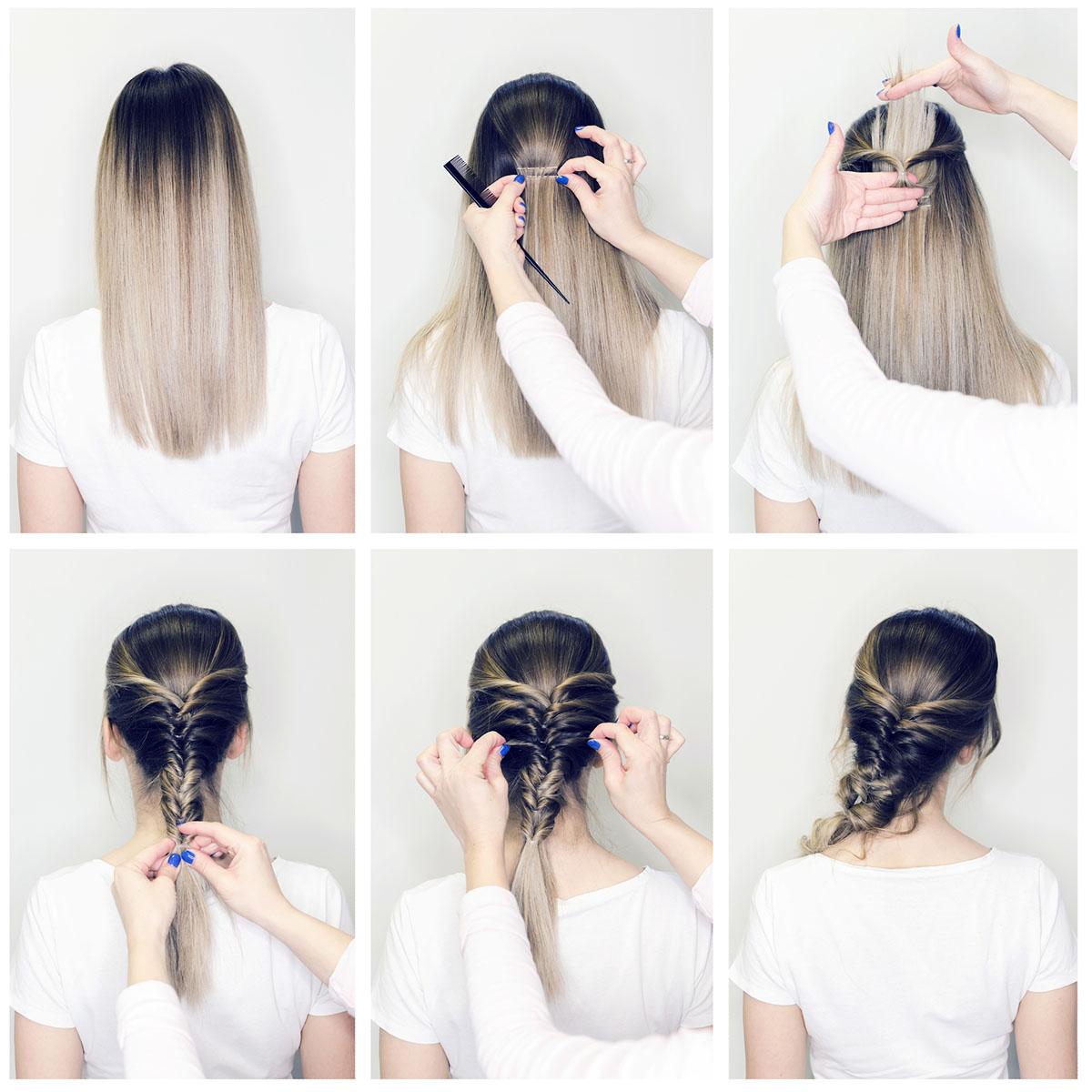 Дитячі шкільні зачіски на довге волосся