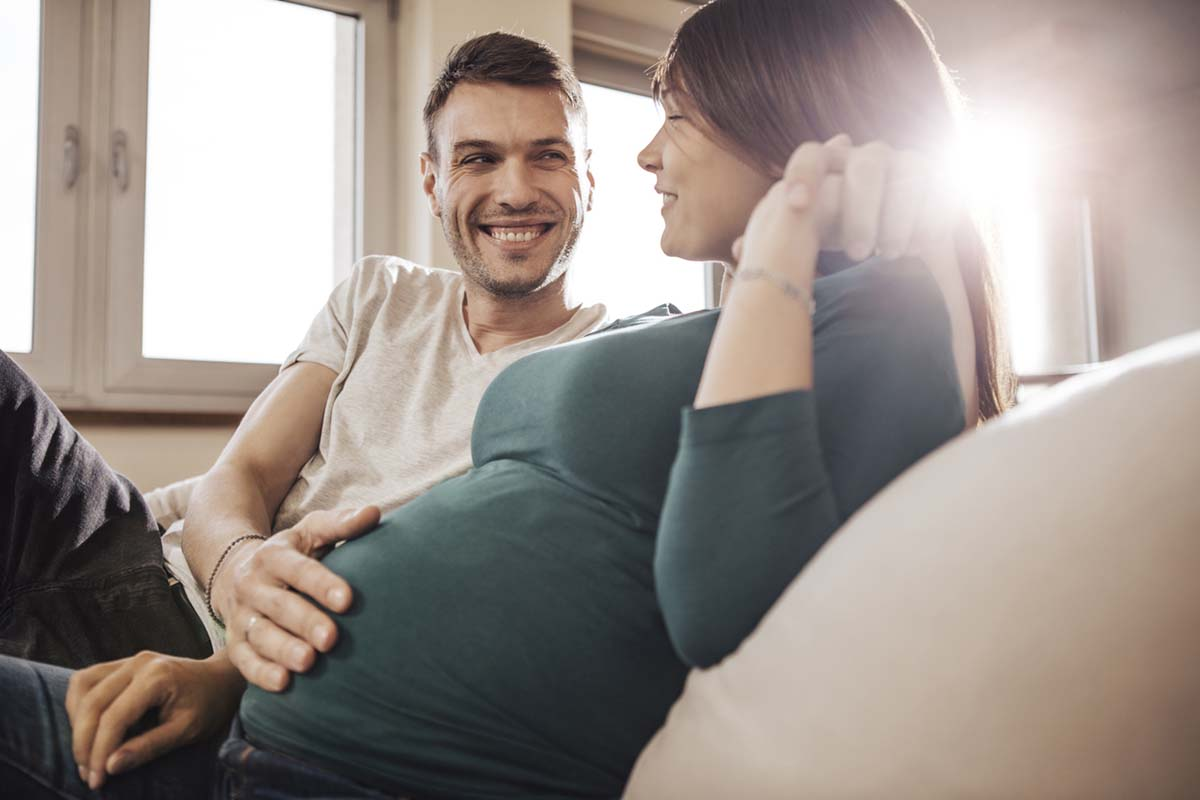 Как помочь жене пережить беременность
