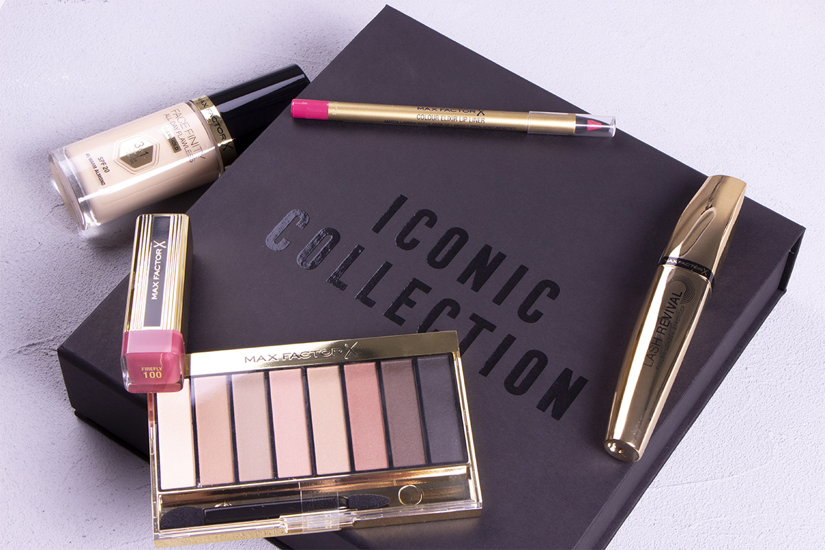 Новая коллекция Iconic от Max Factor