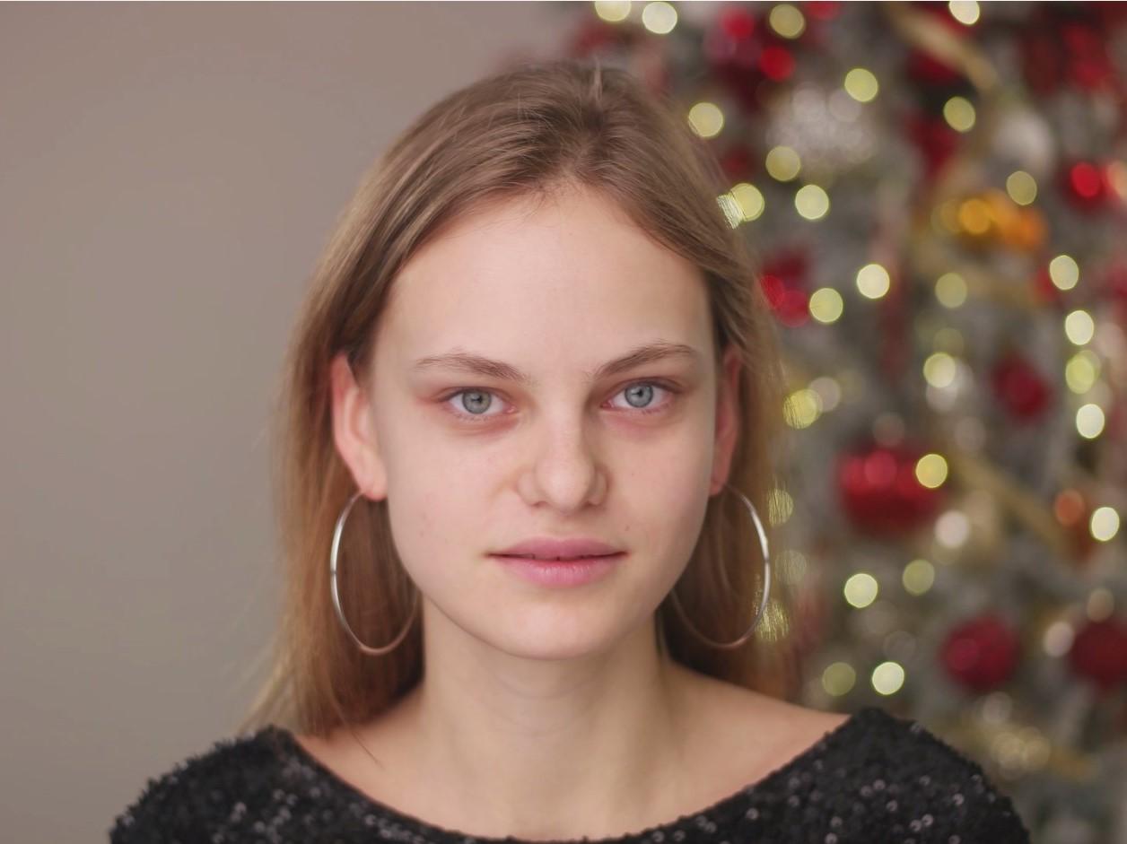 Святковий образ для новорічної вечірки: макіяж та зачіска