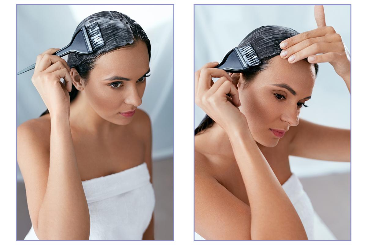 Професійна фарба для домашнього фарбування волосся: огляд IQ Code