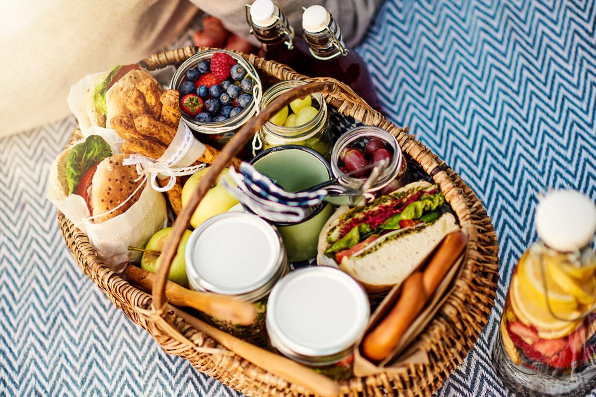 Семейный отдых: собираемся на пикник