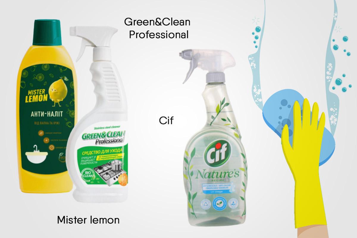 Средства для мытья металлических поверхностей | EVA Blog