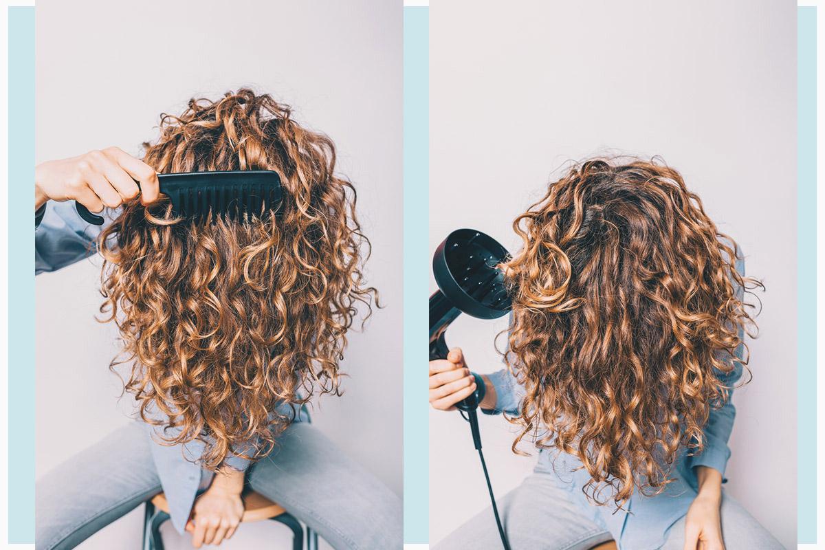 «Кудрявый метод» ухода за волосами | EVA Blog